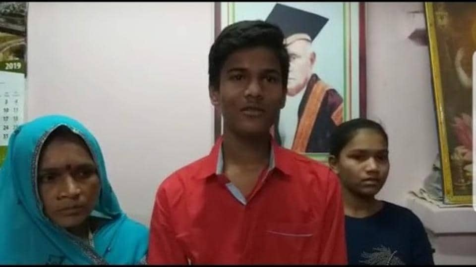 Son of a chowkidaar (watchman) Ayushman Tamrakar, 16, has topped in the MP Board class 10 exams, the result for which was announced on Wednesday.