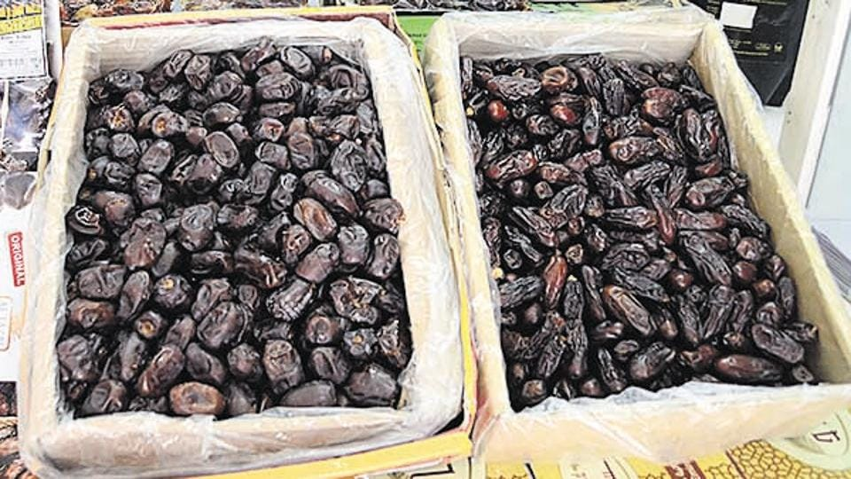 According to traders, prices of dates have gone down by at least 15-20 % in the local markets too
