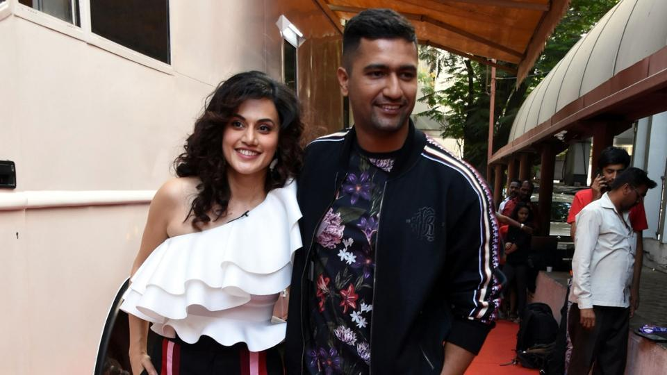 Taapsee Pannu endorses Vicky Kaushal as 'marriage material', he calls her transparent