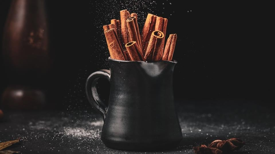 Cinnamon or Dalchini, an aromatic spice is used to flavour vegetables, curries and desserts.