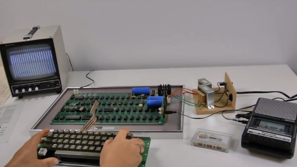 First Apple computer.