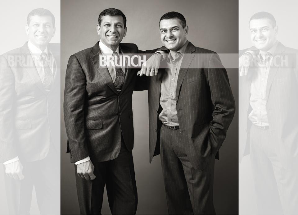 Sons of an accomplished IPS officer, both Raghuram and Mukund Rajan were born in Bhopal, but spent their early years in different parts of the world. Location courtesy: Taj Mahal Hotel, New Delhi; Art direction: Amit Malik; Make-up and hair: Artistry by Anjali Jain