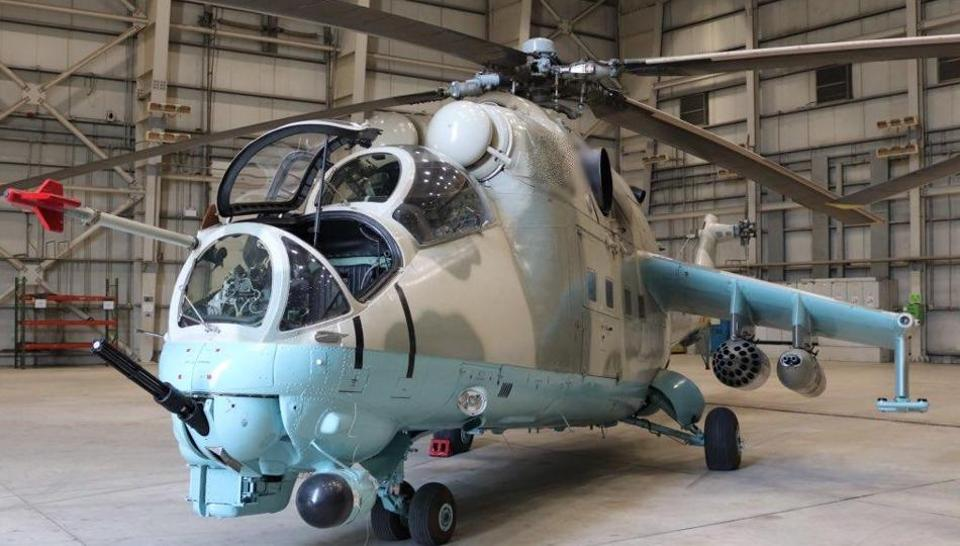 The choppers will boost the capability of the Afghan air force and enhance its effectiveness in combating terrorism, the Indian embassy in Kabul said in a statement. India is expected to deliver two more Mi-24s to Afghanistan later this year.