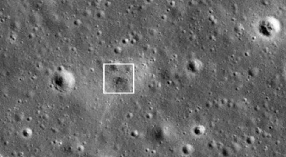 As soon as its orbit placed NASA's Lunar Reconnaissance Orbiter (LRO) over the landing site on April 22, LRO imaged Beresheet's impact site, NASA said in a statement on late Wednesday.