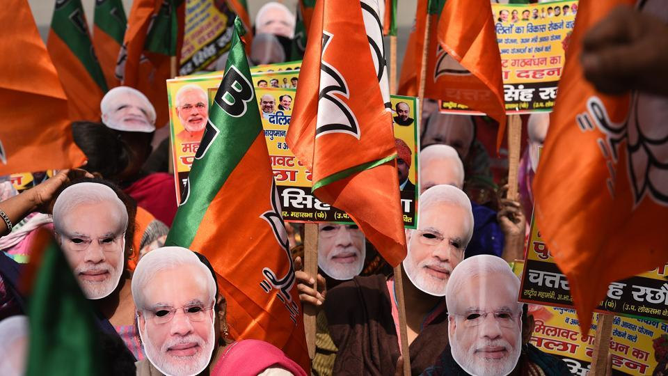 Lok Sabha elections 2019: BJP eyes record, not just victory, as bigwigs gather in Varanasi