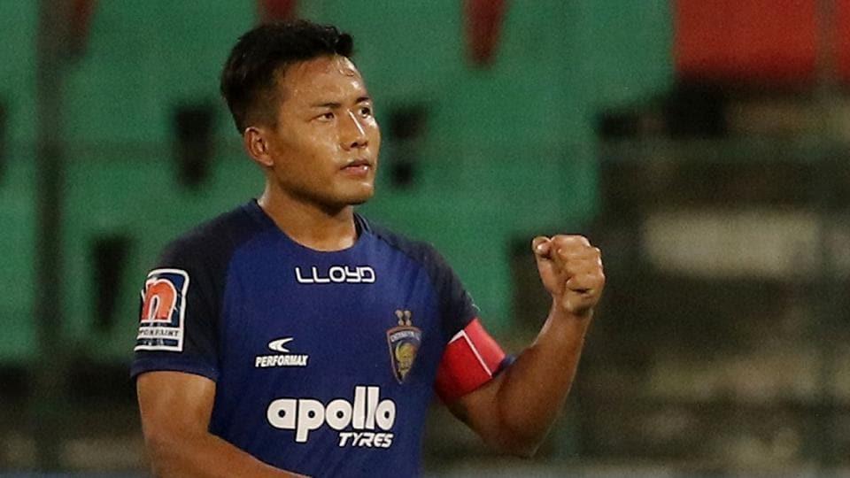 File image of Indian footballer Jeje Lalpekhlua.