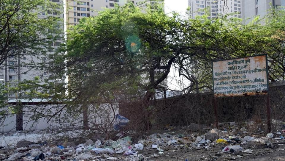 forest department,Pune division,garbage clearance