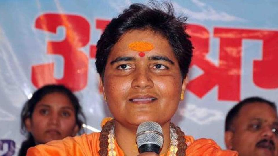 "BJP's Bhopal candidate created controversy on Thursday by saying that Mahatma Gandhi's assassin Nathuram Godse ""was a patriot."""