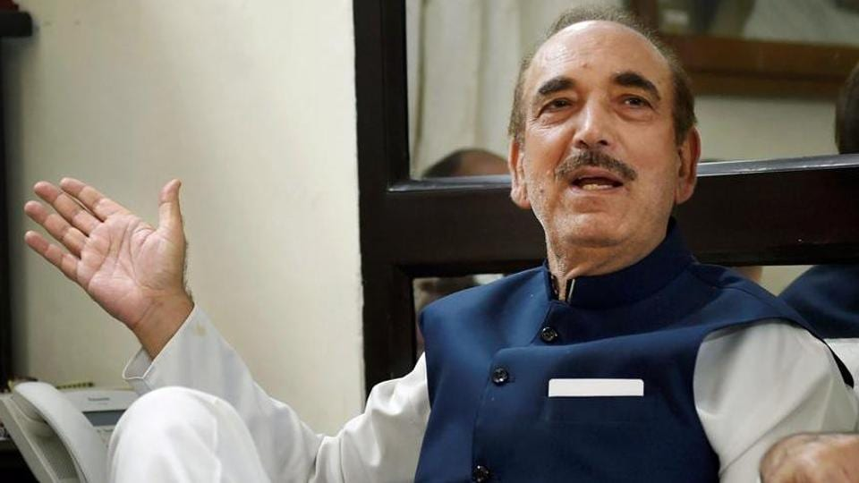 Lok Sabha elections 2019-Congress has no problem if it did not get Prime Minister's post: Ghulam Nabi Azad