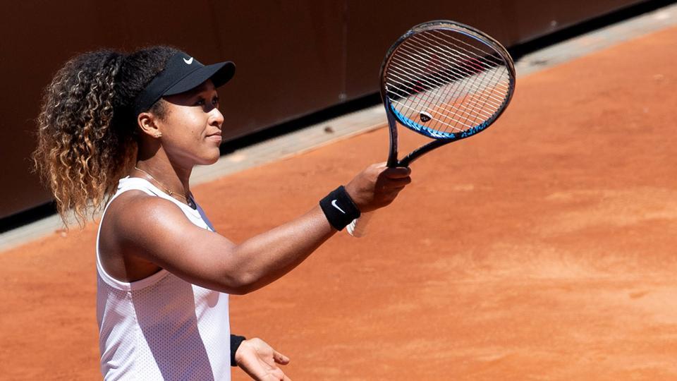 Naomi Osaka,Italian Open,Roger Federer
