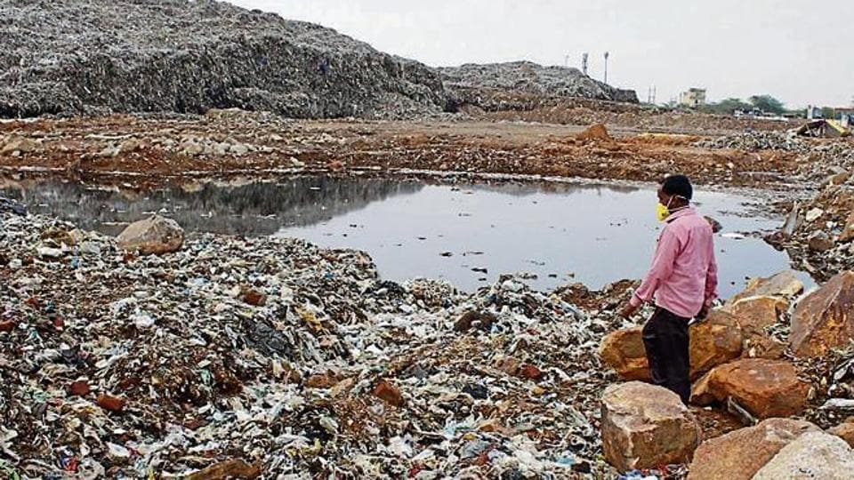 Bandhwari,groundwater pollution,Valley View Estate