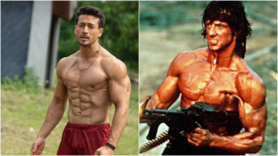 Tiger Shroff,Sylvester Stallone,Rambo Hindi adaptation