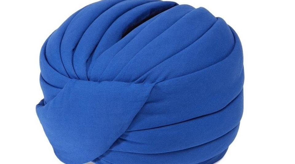 The turban in question -- and several other versions of it in different colours -- actually debuted on the runway in February 2018.