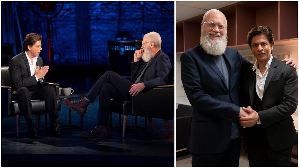 Shah Rukh Khan,David Letterman,Shah Rukh Khan David Letterman
