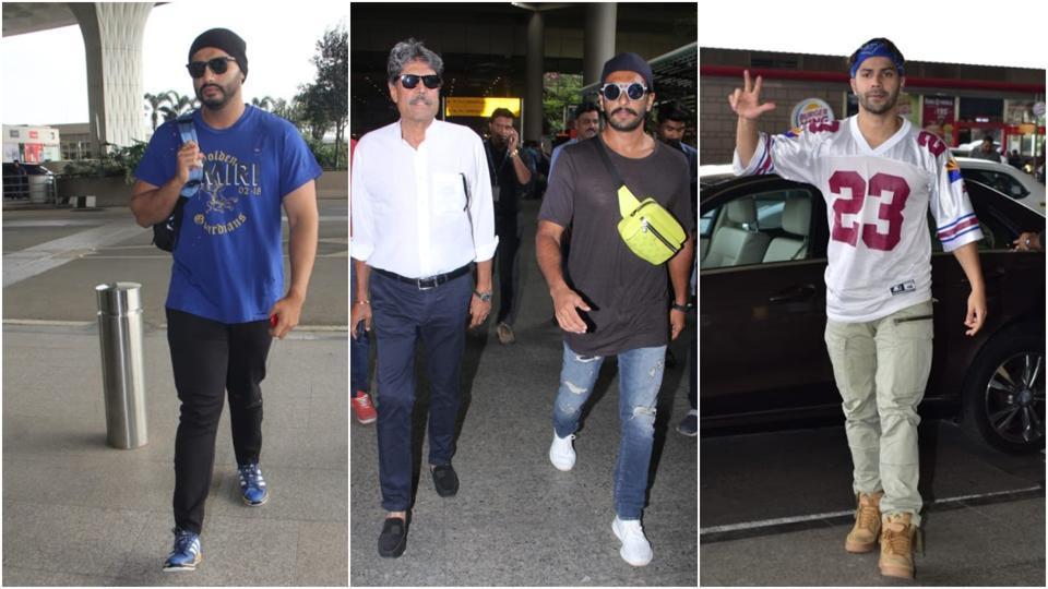Have you seen these pics of Varun Dhawan, Ranveer Singh, Arjun Kapoor and Sanjay Dutt?