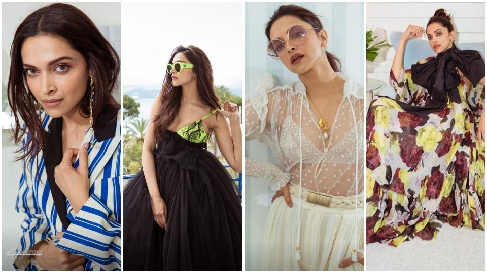 Deepika Padukone has shared four new looks from the Cannes Day 2.