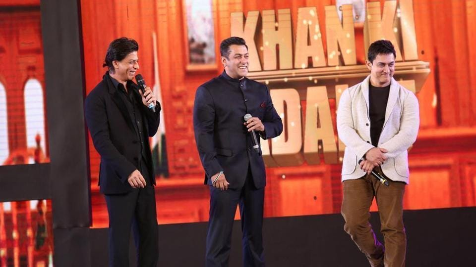 Salman Khan, Shah Rukh Khan and Aamir Khan  ruled Bollywood in the 90s but have never worked together in a film.