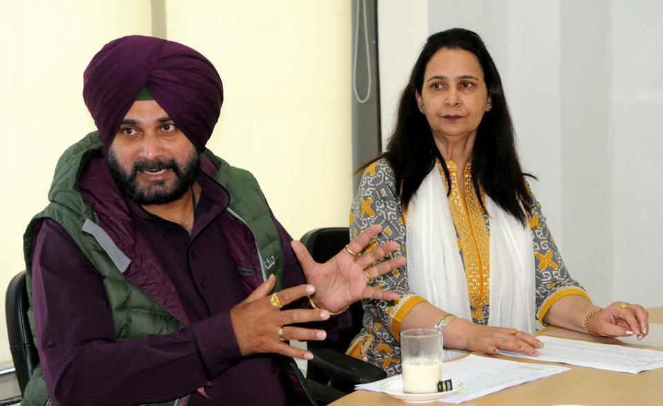 Sidhu slammed the previous government for not settling farmers' despite the Punjab Settlement of Agricultural Indebtedness Act in 2016.