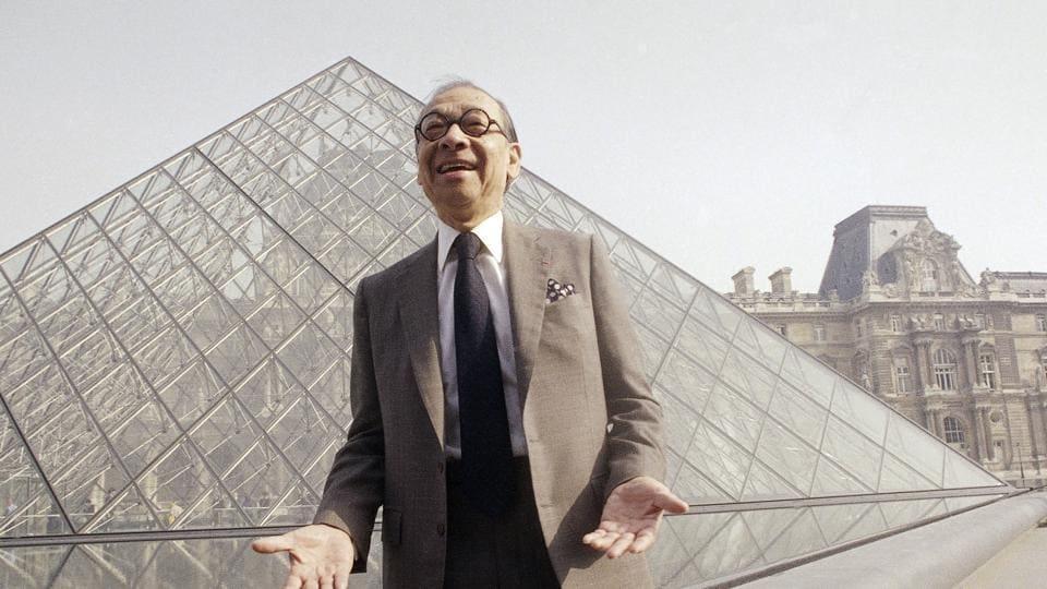 I.M. Pei,Louvre Pyramid,China tower
