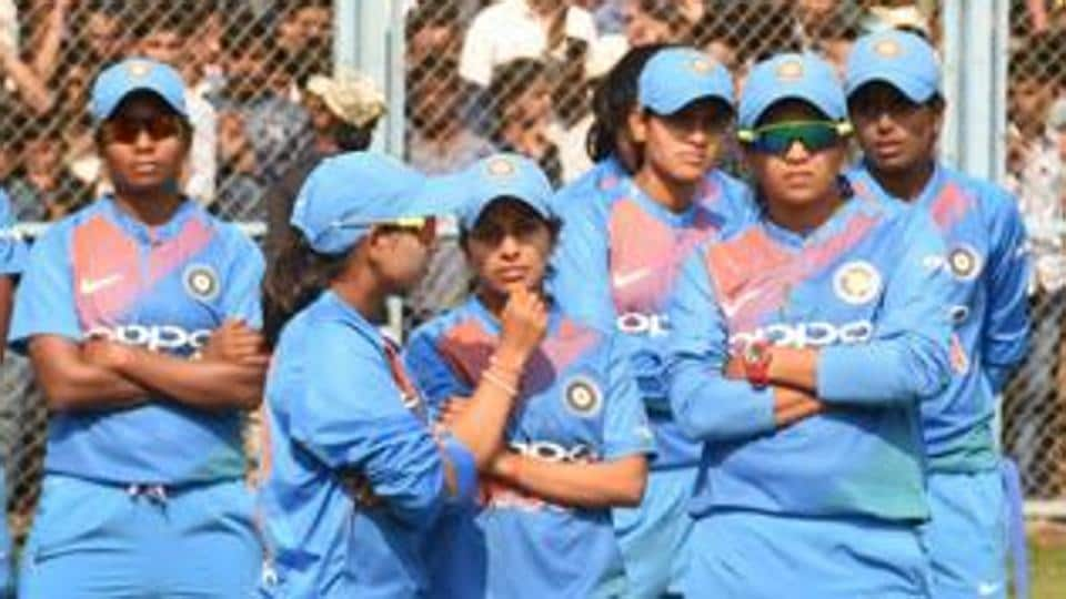 File image of players of Indian women's cricket team.