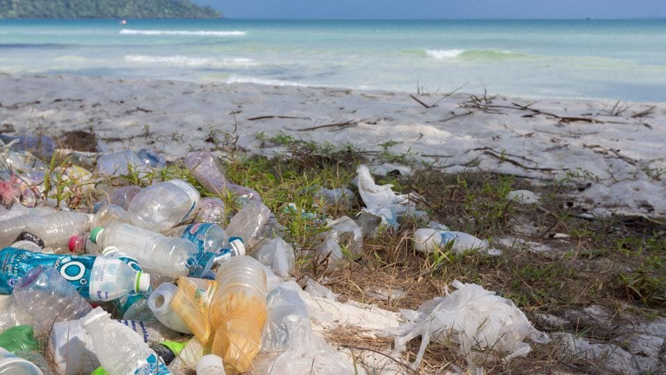414 million pieces,remote islands,pieces of plastic