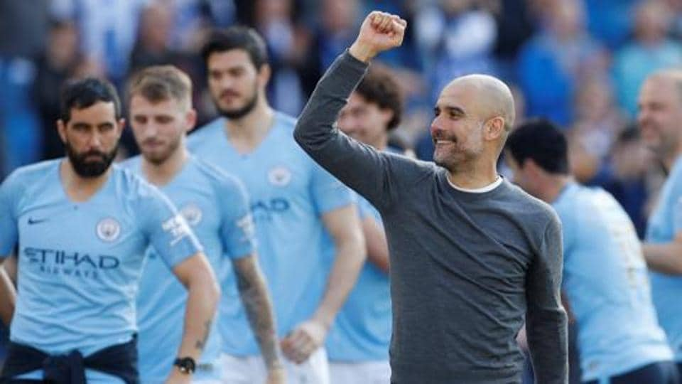 File image of Manchester City manager Pep Guardiola.