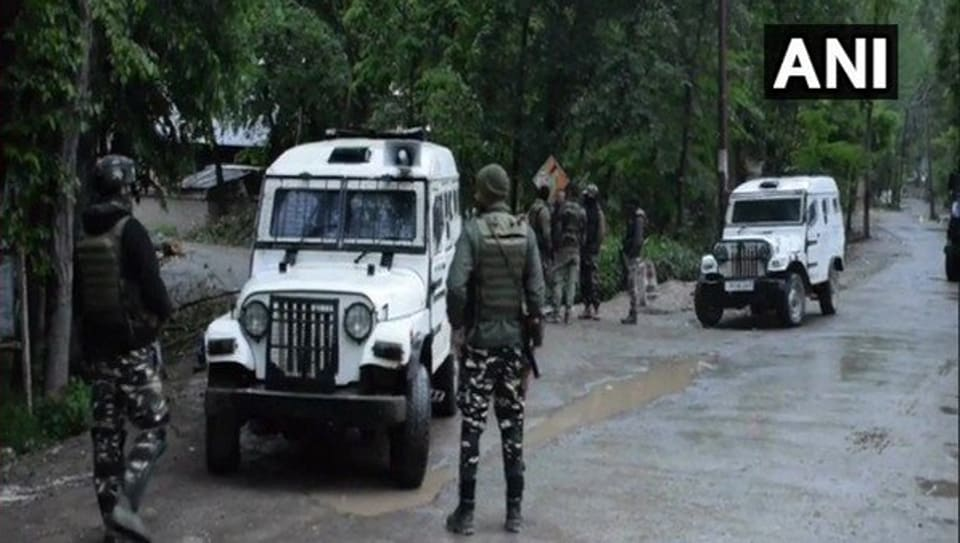 Kashmir,Encounter,Security forces
