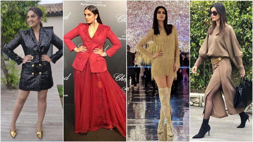 Huma Qureshi, Diana Penty stun in Cannes.