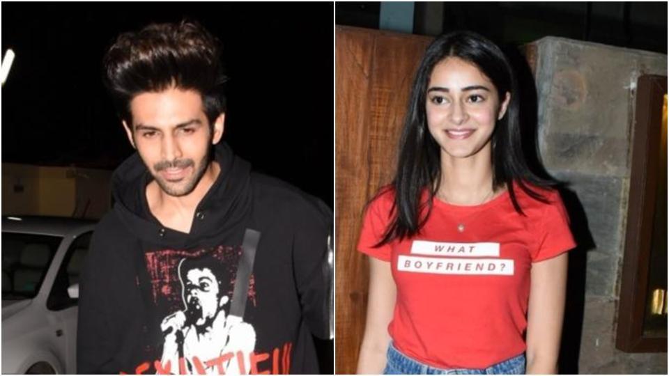 Ananya Panday has a crush on Kartik Aaryan.
