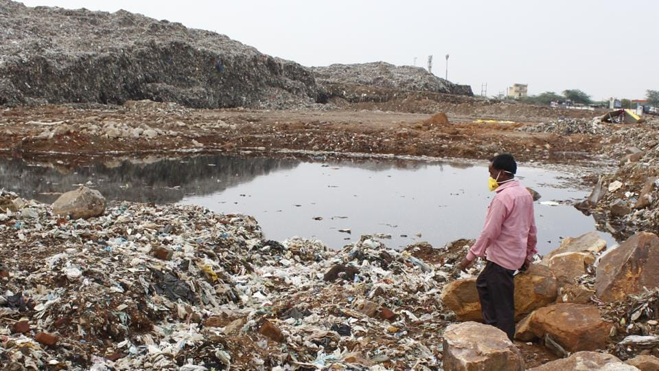 Garbage,landfill,pollution