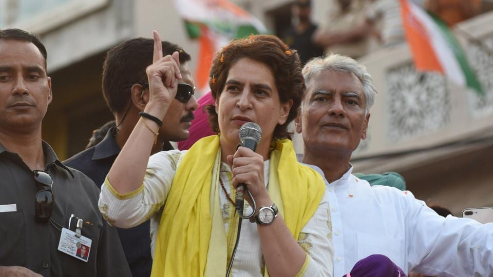 In another Bollywood reference, Priyanka Gandhi likened Modi to Asrani's character in Bachchan-starrer Sholay.