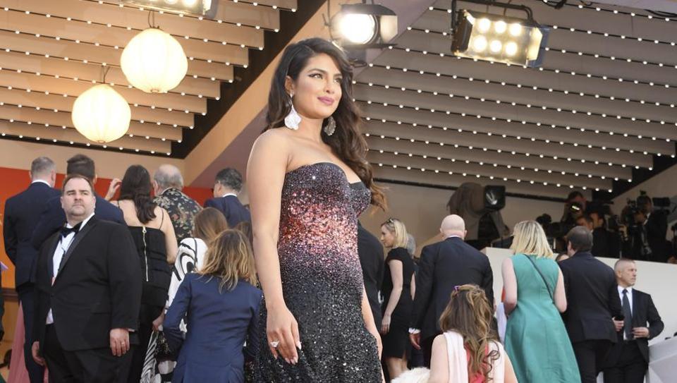 Hina Khan,Priyanka Chopra,Priyanka Chopra at Cannes