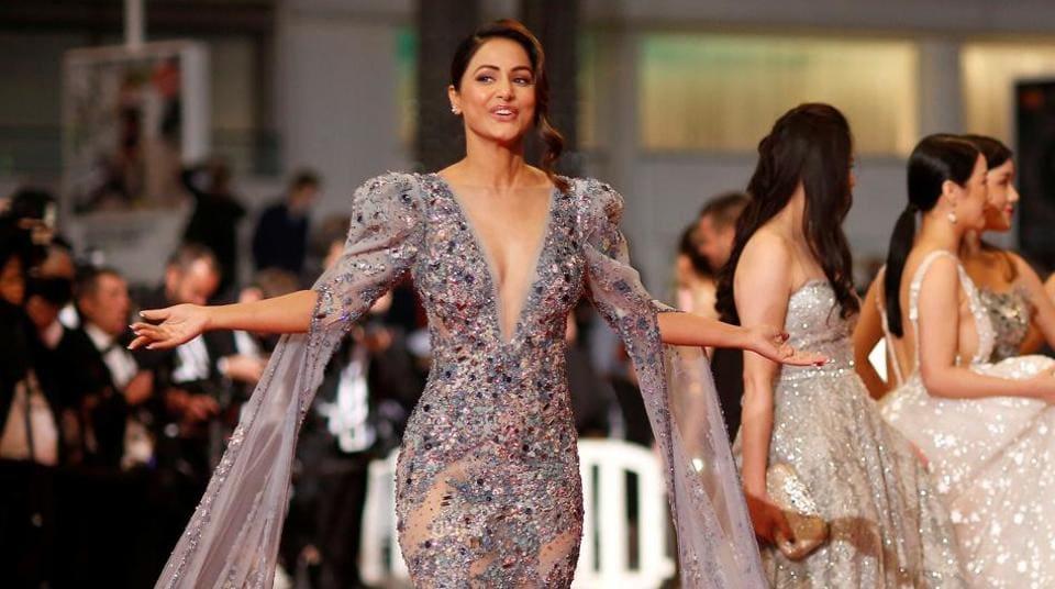 Hina Khan,Cannes 2019,Hina Khan at Cannes