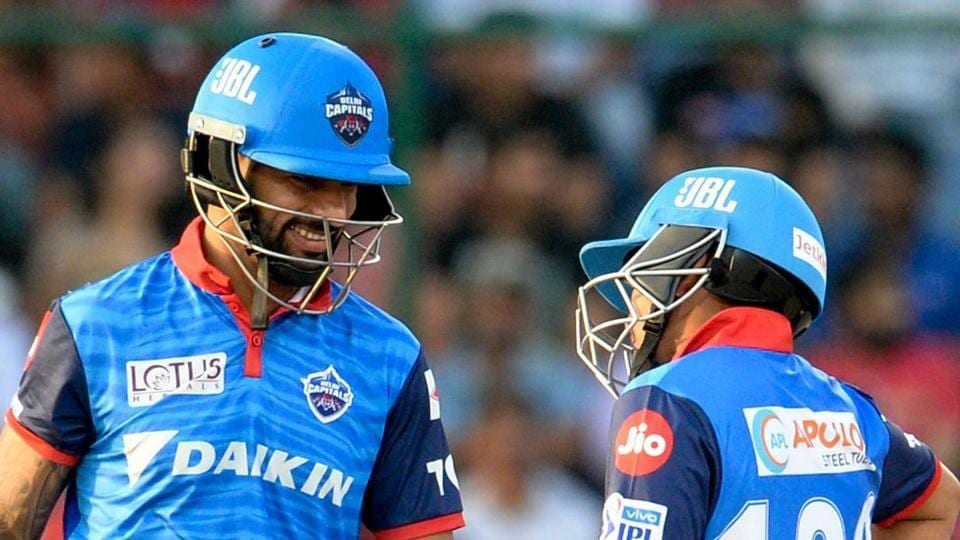 File image of Shikhar Dhawan and Prithvi Shaw in action during an IPLmatch.