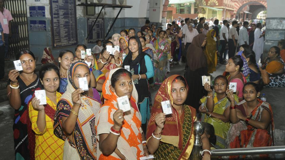 Polling for 18 assembly seats peaceful in Tamil Nadu, Goa and Agra