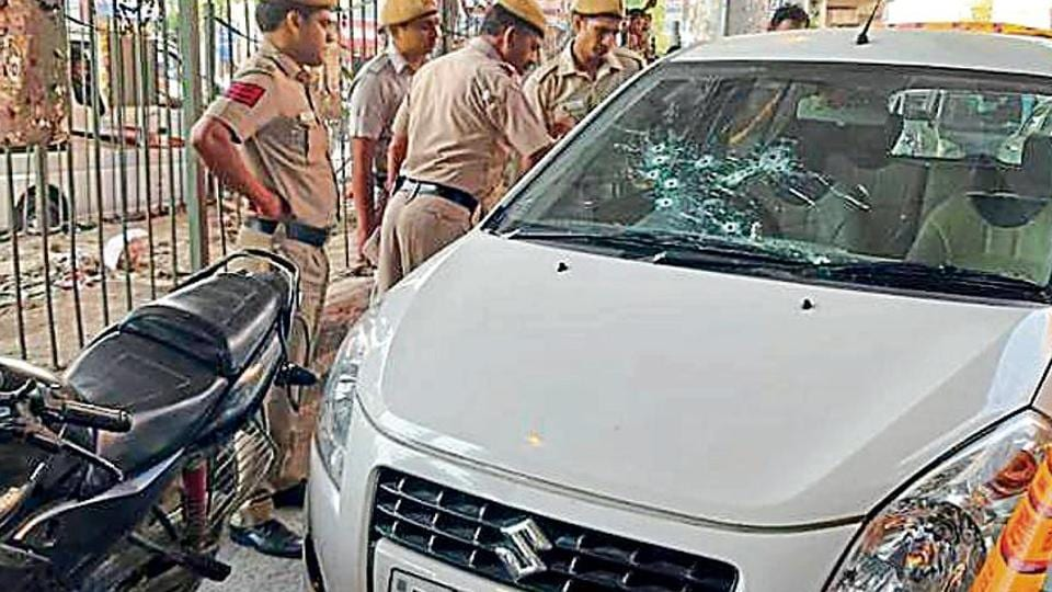 The gun battle comes just two days after another suspected gangwar in Rohini Sector 11, in which a man was chased by a group of people and shot multiple times.