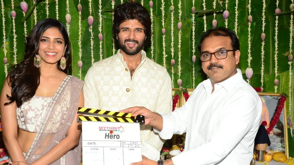 Vijay Deverakonda was last seen in Taxiwala, while Malavika Mohanan made her film debut with Beyond the Clouds.