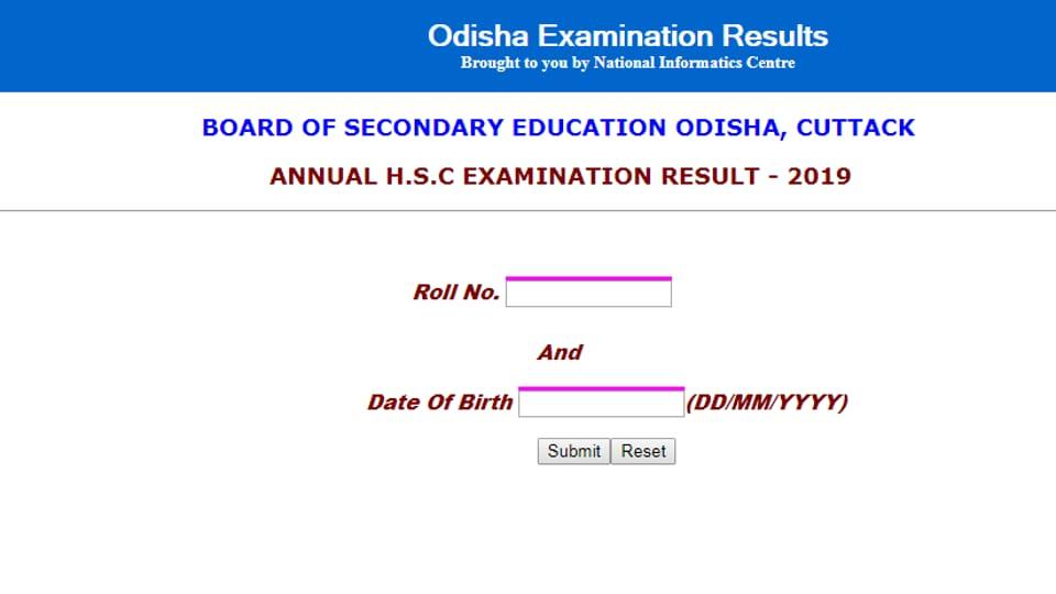 BSE Odisha 10th Result 2019 Highlights: Matric result declared