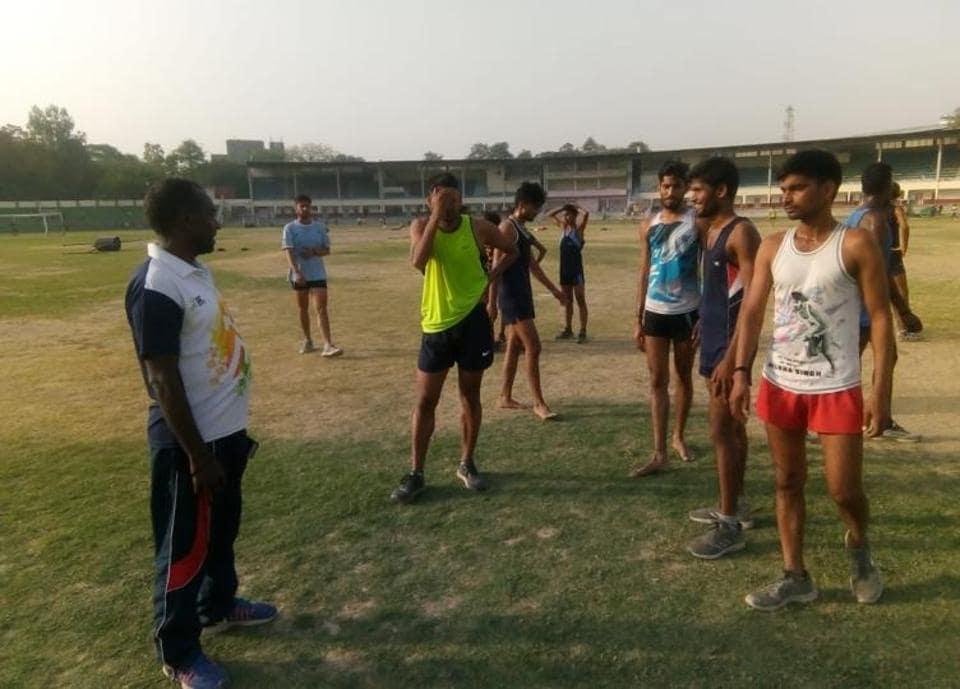 Budding atheletes,Gulab Chand,Lucknow
