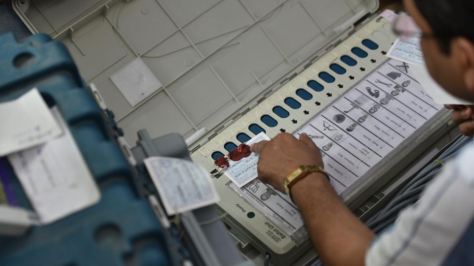 The security personnel from CRPF and India Reserve Battalion who were outnumbered didn't fire in retaliation. The polling team returned to the district headquarters.