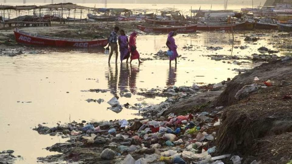 The NGT bench directed the Uttar Pradesh Pollution Control Board to prohibit discharge of any sewage or industrial effluents either directly into the Ganga river or its tributaries.
