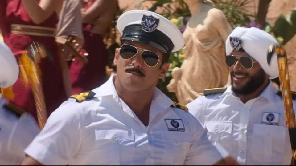 Bharat song Turpeya: Salman Khan plays a navy officer in the film, among other things.