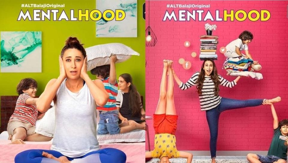 Karisma Kapoor will be seen as a mother of three kids on web series Mentalhood.
