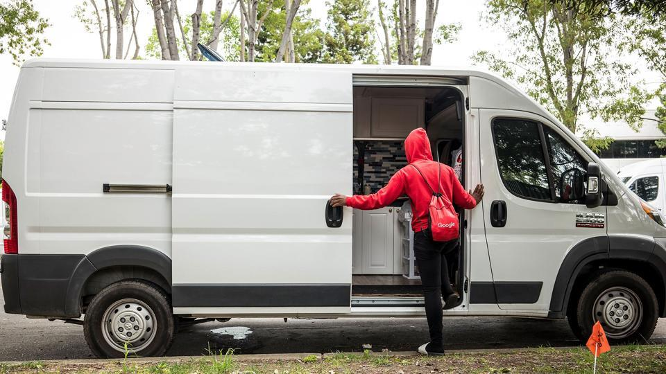 Silicon Valley's Shame: Living in a Van in Google's Backyard
