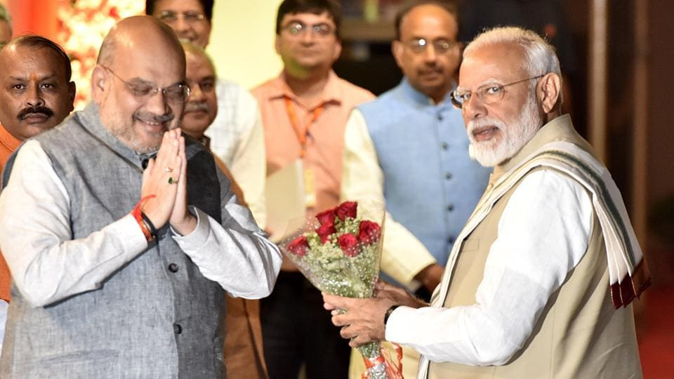 In his address, Modi stressed on the need to change the narrative from caste lines and orient it for the poor, Singh said.