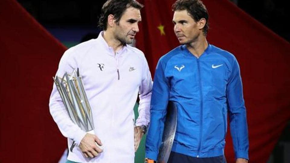 Rafael Nadal, Roger Federer in same half of French Open draw
