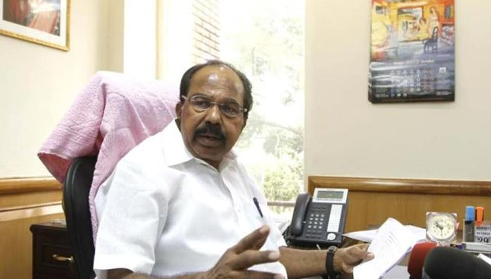 Moily, a former union minister, was the joint candidate of the ruling Congress-JDS coalition.