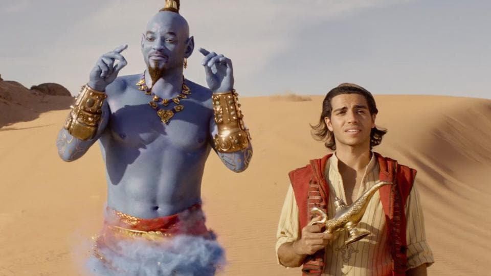 Newcomer Mena Massoud is Aladdin. WIll Smith is the genie. There's music and dancing. But the thing just never takes off. What should have been a family-friendly entertainer is weighted down by flat characters and slack pacing.