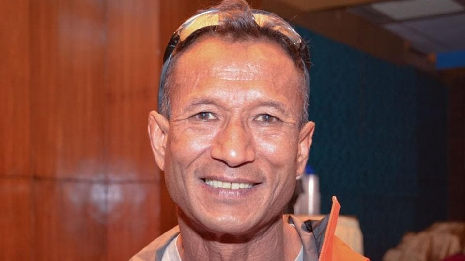 Gopal Shrestha from Pokhara in Nepal became first HIV infected climber to ascend the Mount Everest.
