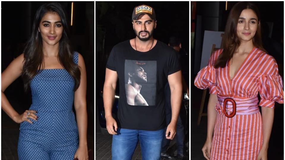 Alia Bhatt, Vidya Balan attend screening of Arjun Kapoor's India's Most Wanted. See pics, video